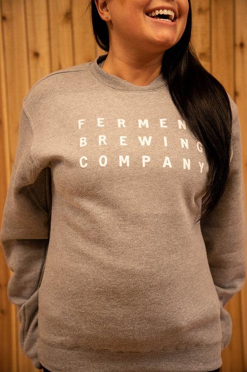 Felt Sweatshirt
