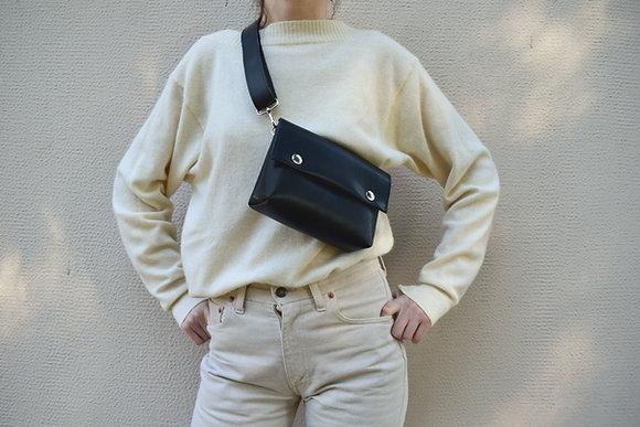 Black, Alas Belt Bag