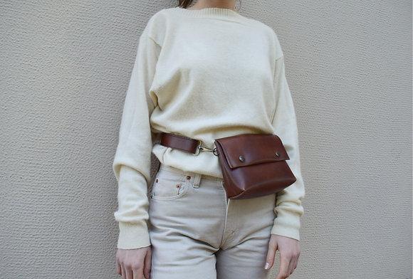 Brown, Alas Belt Bag