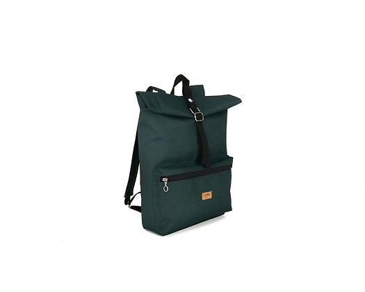 Forest Green Cordura,Kira Roll Top Backpack
