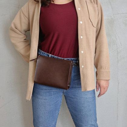Dark Brown, Arya Belt Bag