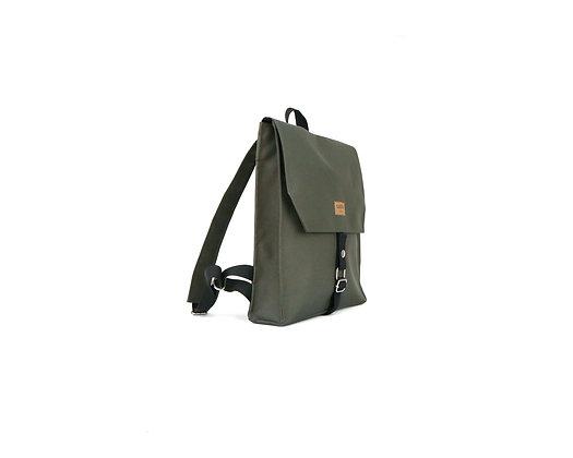 Olive Green Cordura,Mica Flap Backpack