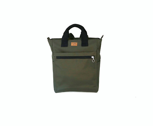 Green Cordura,Monar Zipper Backpack