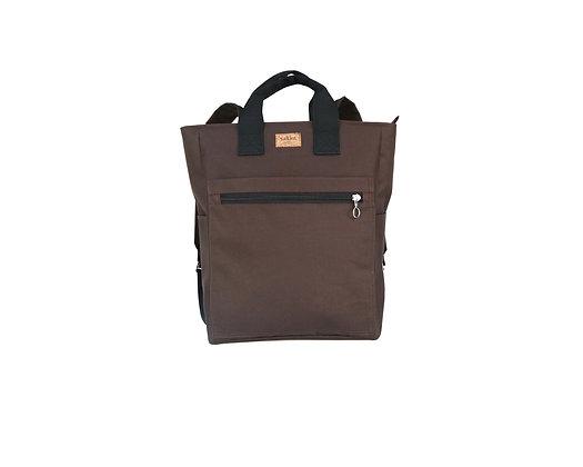 Brown Cordura,Monar Zipper Backpack