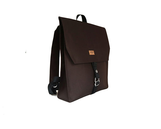 Brown Cordura,Mica Flap Backpack