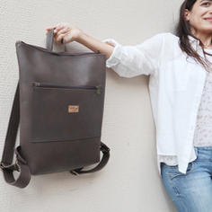 Lasal Vegan Leather Backpack