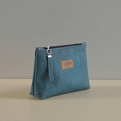 Blue Cork,ARC Zipper Clutch bag