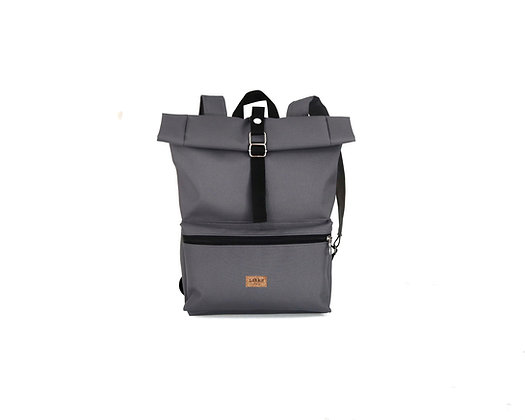 Gray Cordura,Kira Roll Top Backpack