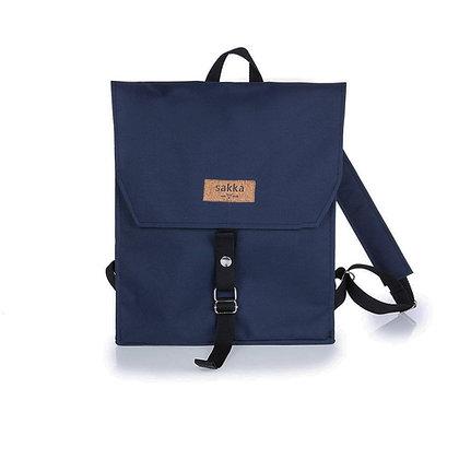 Blue Cordura,Mica Flap Backpack