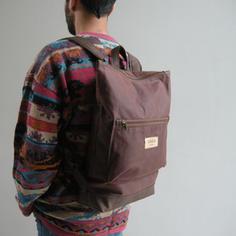 Lasal Waxed Canvas Backpack