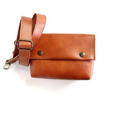 Tan, Alas Belt Bag
