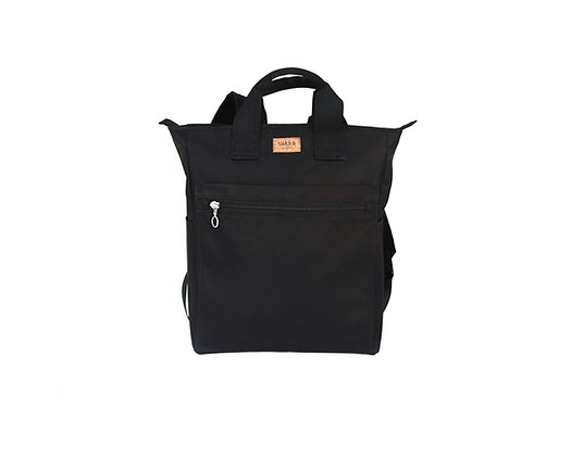 Black Cordura,Monar Zipper Backpack
