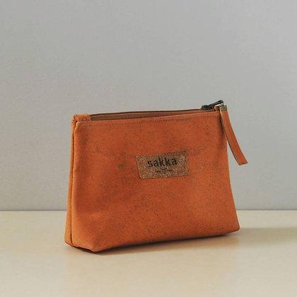 Orange Cork,ARC Zipper Clutch bag