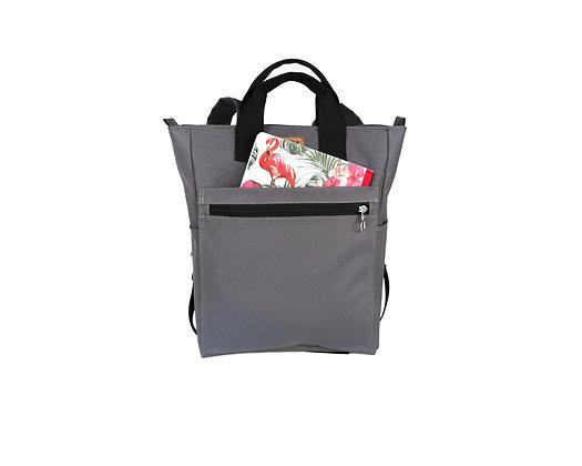 Gray Cordura,Monar Zipper Backpack