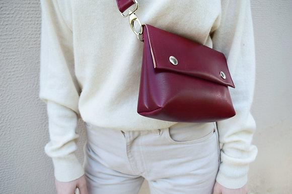 Burgundy, Alas Belt Bag