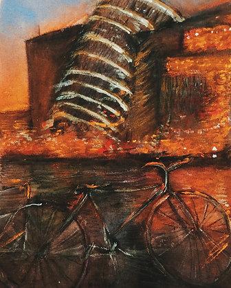 Cycle City Print