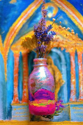 Landscape Mini Flower Vase