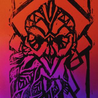 20. Art Deco Owl Ink Print.