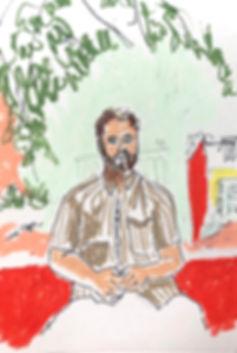 Owen in Marion's Garden .jpg