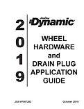 2019 Wheel Hardware Drain Plug Applicati