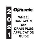 2021 Wheel Hardware  Drain Plug Applicat