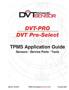 Dynamic DVT-PRO TPMS Application Guide c
