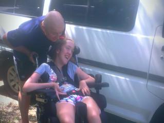 Cricks helps get Dana on the road