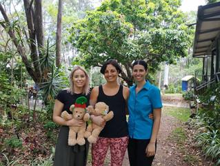 Sunshine Coast team help local family
