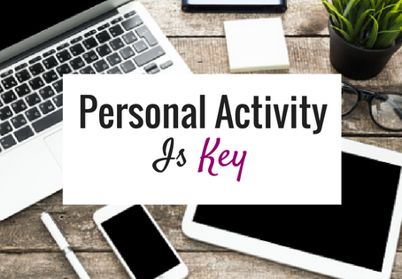 Get into an activity…and STAY there.