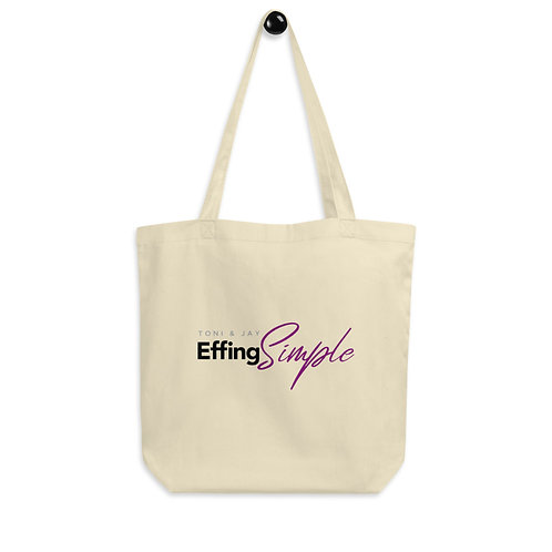 Effing Simple Eco Tote Bag