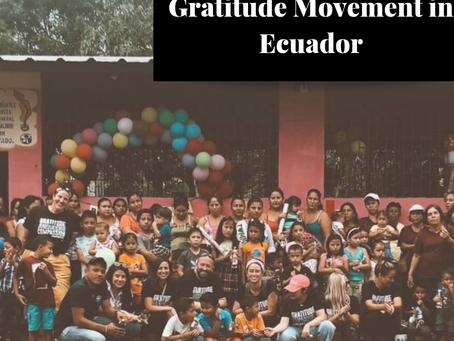 Gratitude Movement in Ecuador
