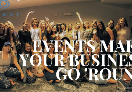 Events Make Your Business Go 'Round