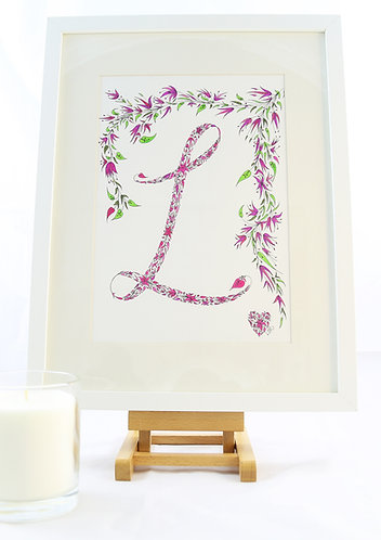 'Pretty' Initial by Lynn Selwyn-Reeves