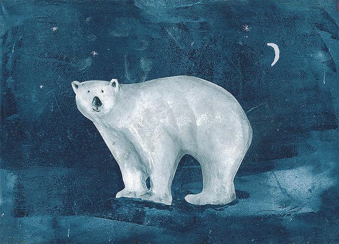 Polar Bear Blue by Amanda Blunden