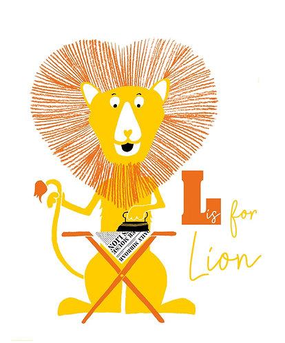 lion ironing