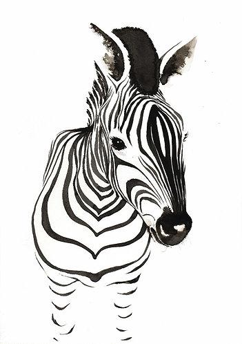 Zebra print for kids