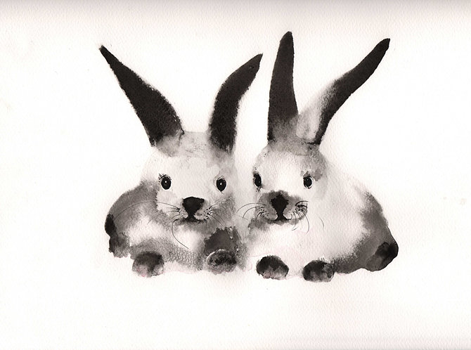 Bunnies by Nick Anaam
