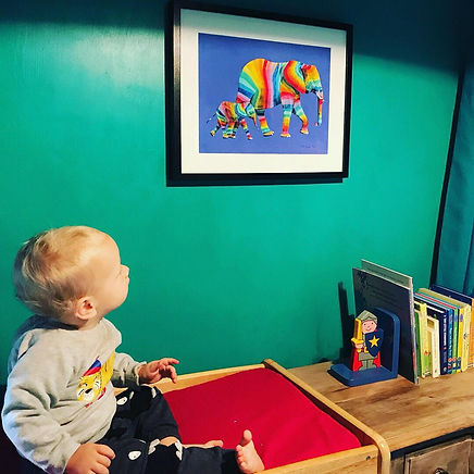 Kids room art
