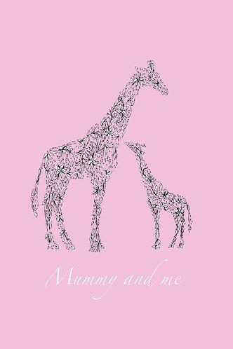 Mummy& Me Giraffes (pink) by Lynn Selwyn-Reeves