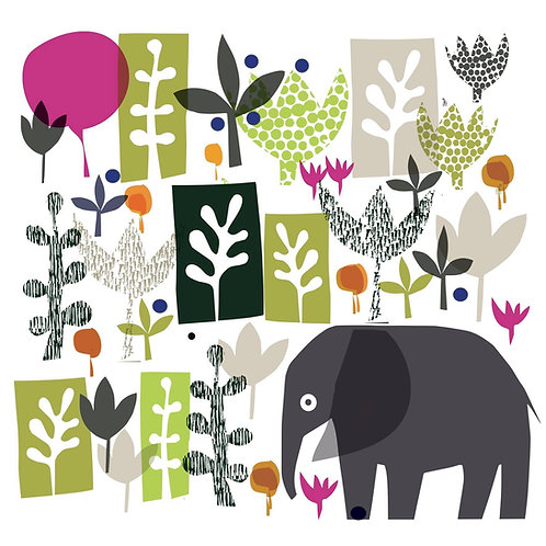 Jungle print for kids