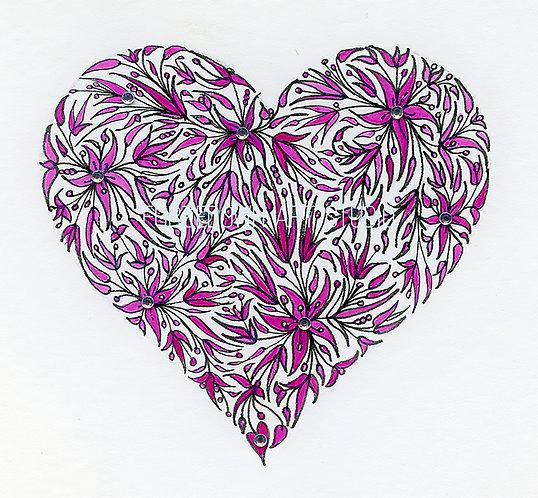 Pink Heart by Lynn Selwyn-Reeves