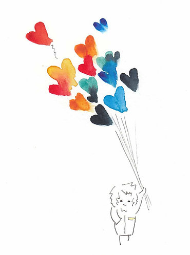 Love Up Rainbow by Emma Thistleton