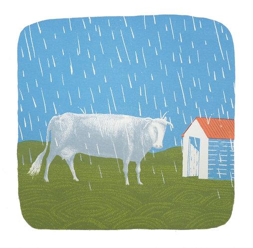 Rain on the Plain by Simon Tozer