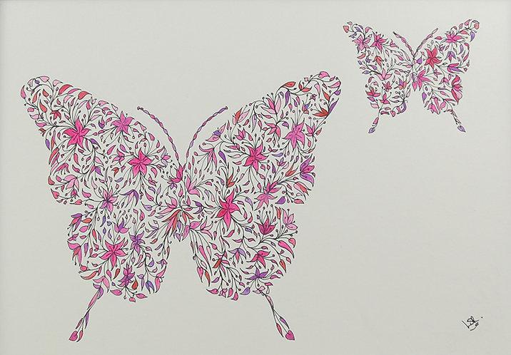 Butterflies by Lynn Selwyn-Reeves