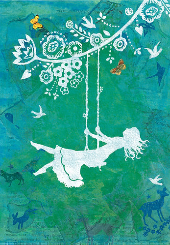 Alice in Wonderland print for children