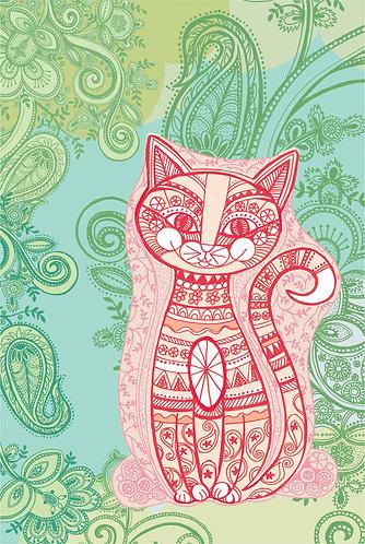 nursery cat print