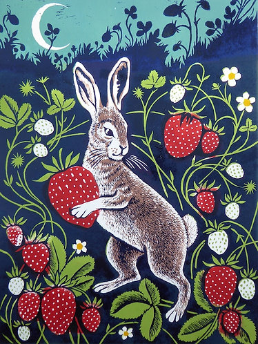 The Strawberry Thief by Teresa Winchester