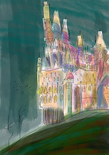 Hogwarts by Claire Westwood