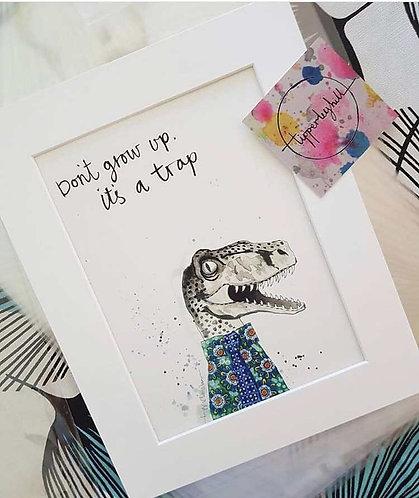 Dinosaur print for kids