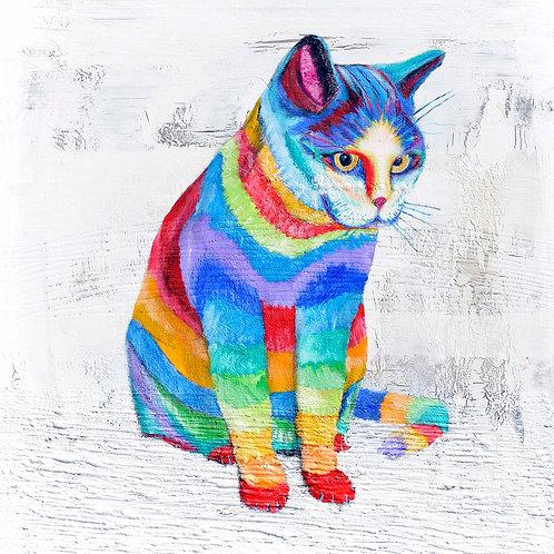 Striped Cat by Raph Thomas